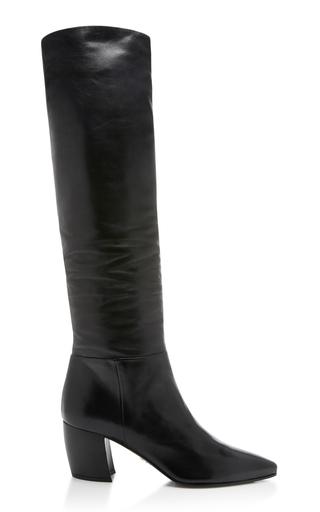 PRADA   Prada Slouchy Leather Boots   Goxip