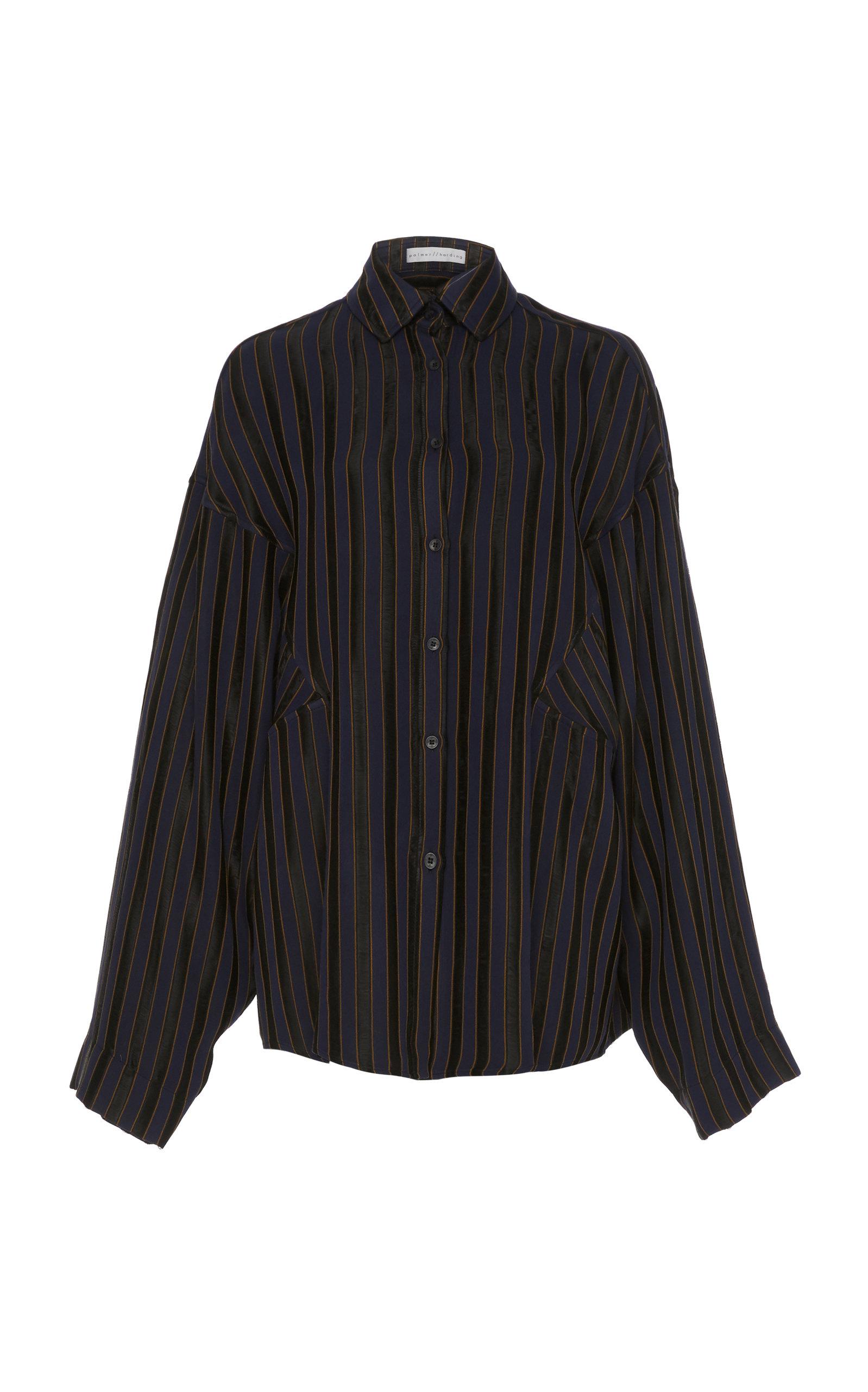 Palmer//Harding Parallel Shirt in Stripe