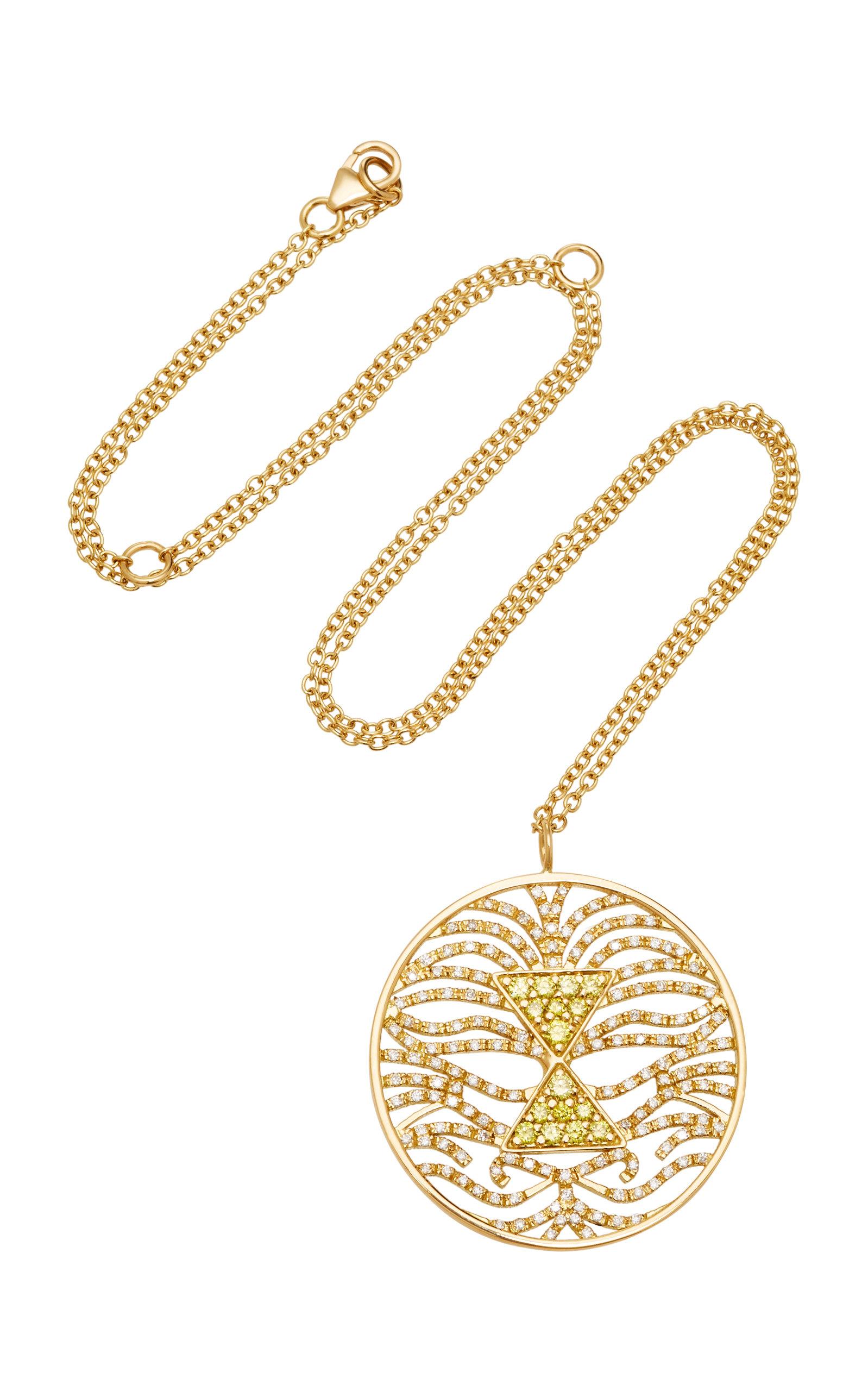 MISAHARA TAU 18K GOLD DIAMOND NECKACE