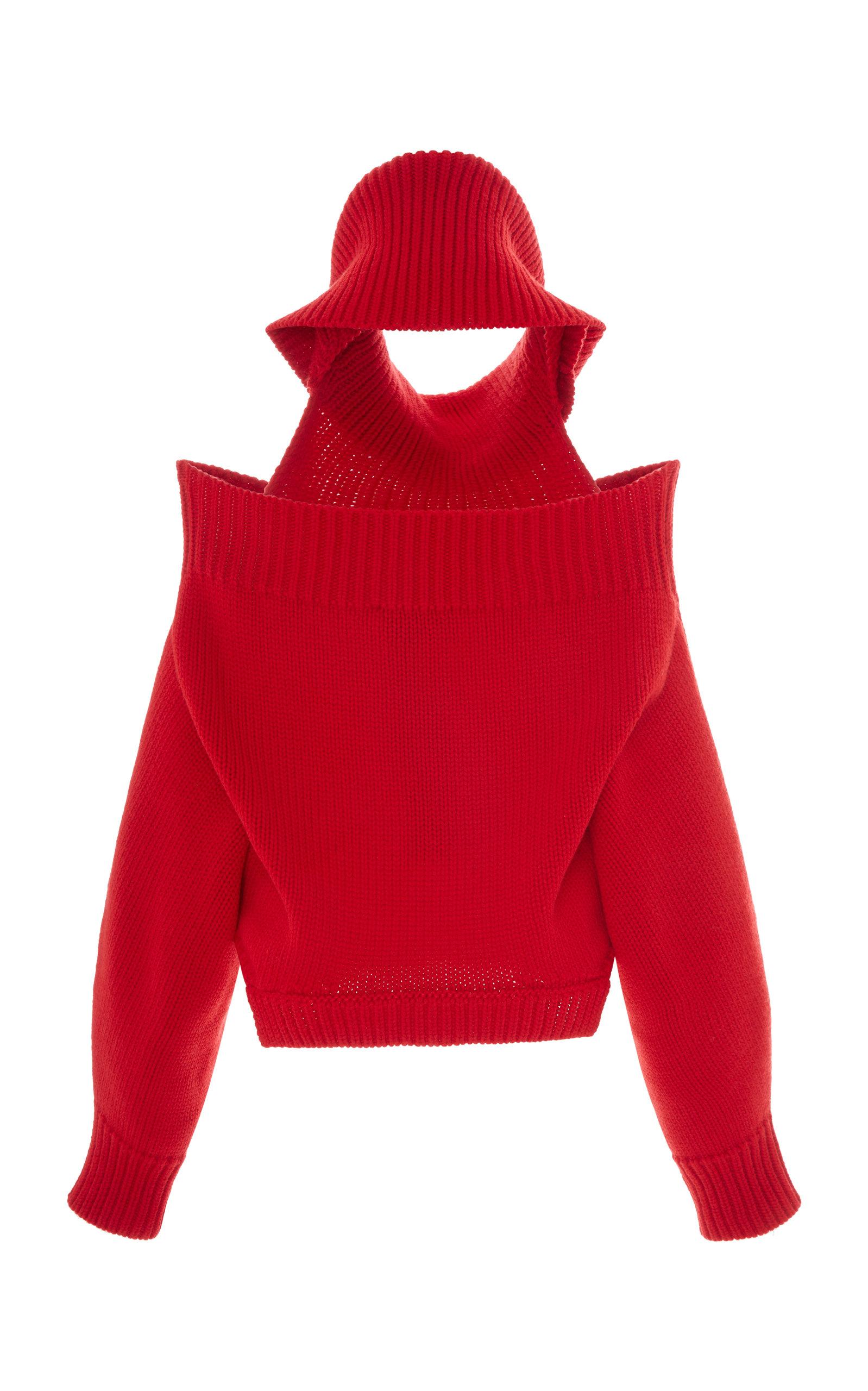 By Upside Operandi Down Turtleneck Monse Moda Sweater Wool 8wSgOw