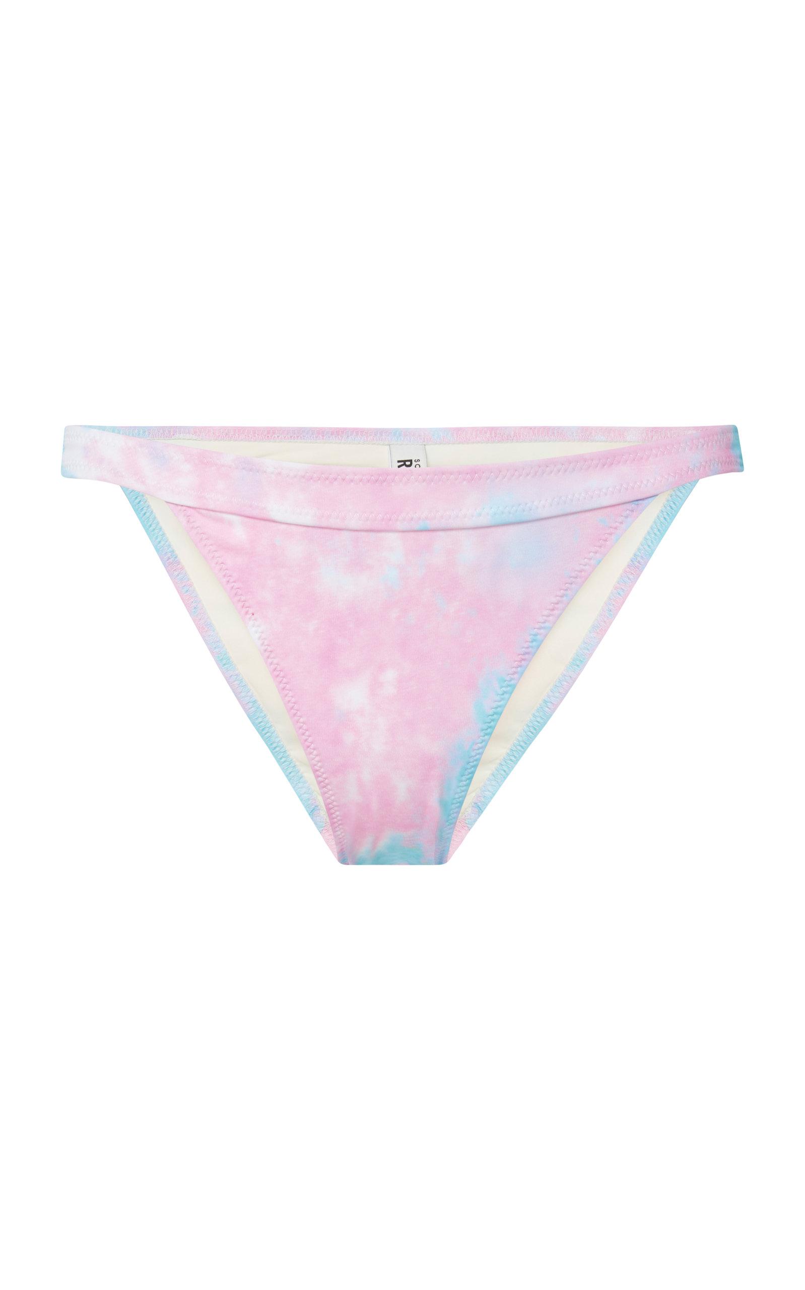 Jeu De Jeu Sortie 2018 Nouvelle Solid & Striped + RE/DONE Venice Brazilian Tie-Dye Bikini Briefs Meilleur Magasin Pour Obtenir En Ligne Pas Cher b7QzYNkw