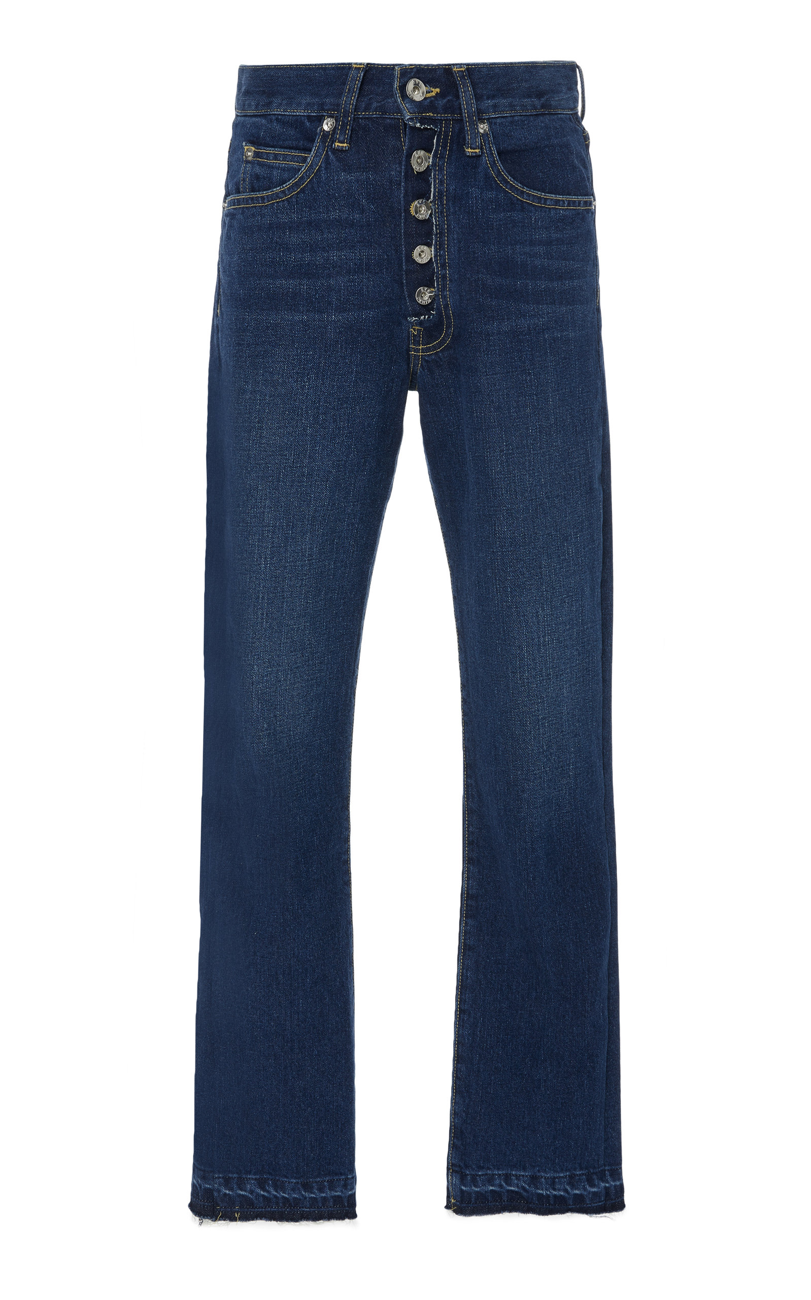 EVE DENIM SILVER BULLET HIGH-RISE SKINNY JEANS