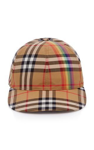 Plaid Baseball Hat by Burberry  b26172045ce