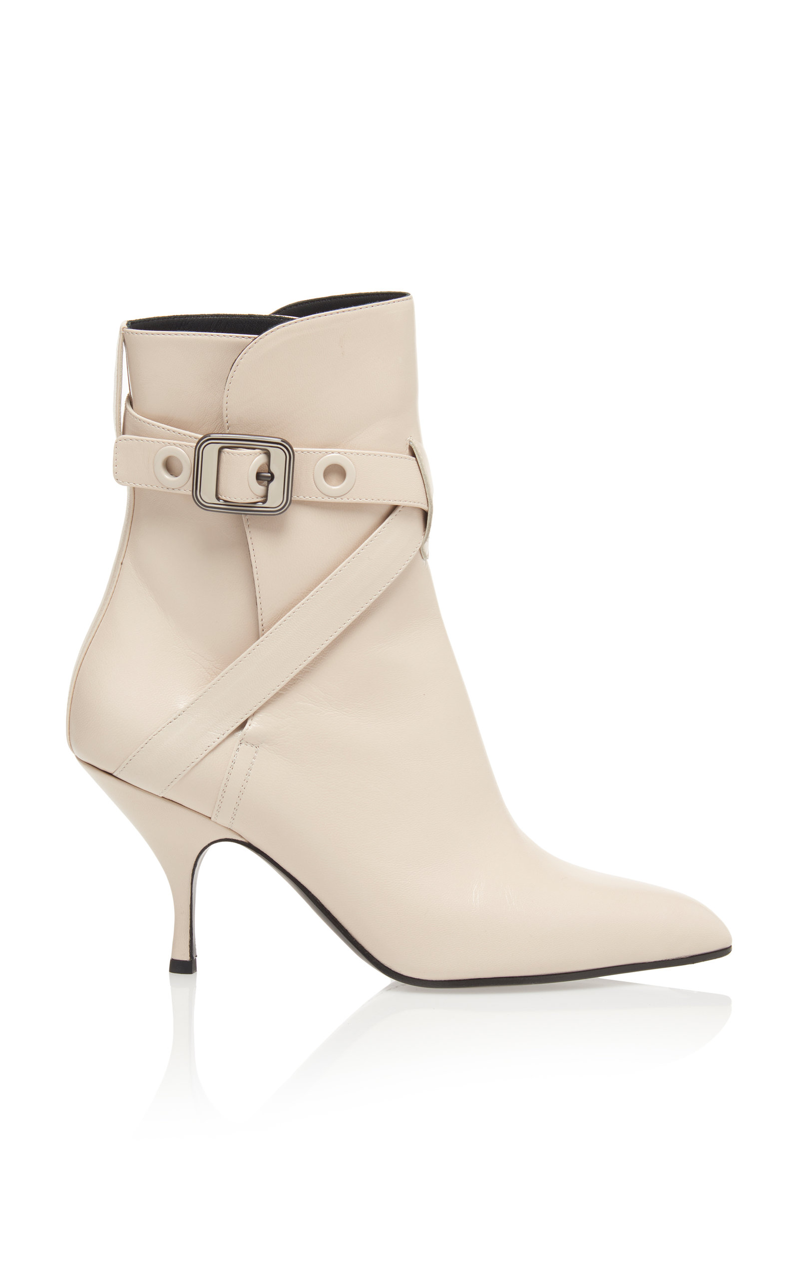 Moodec Leather Ankle Boots, White