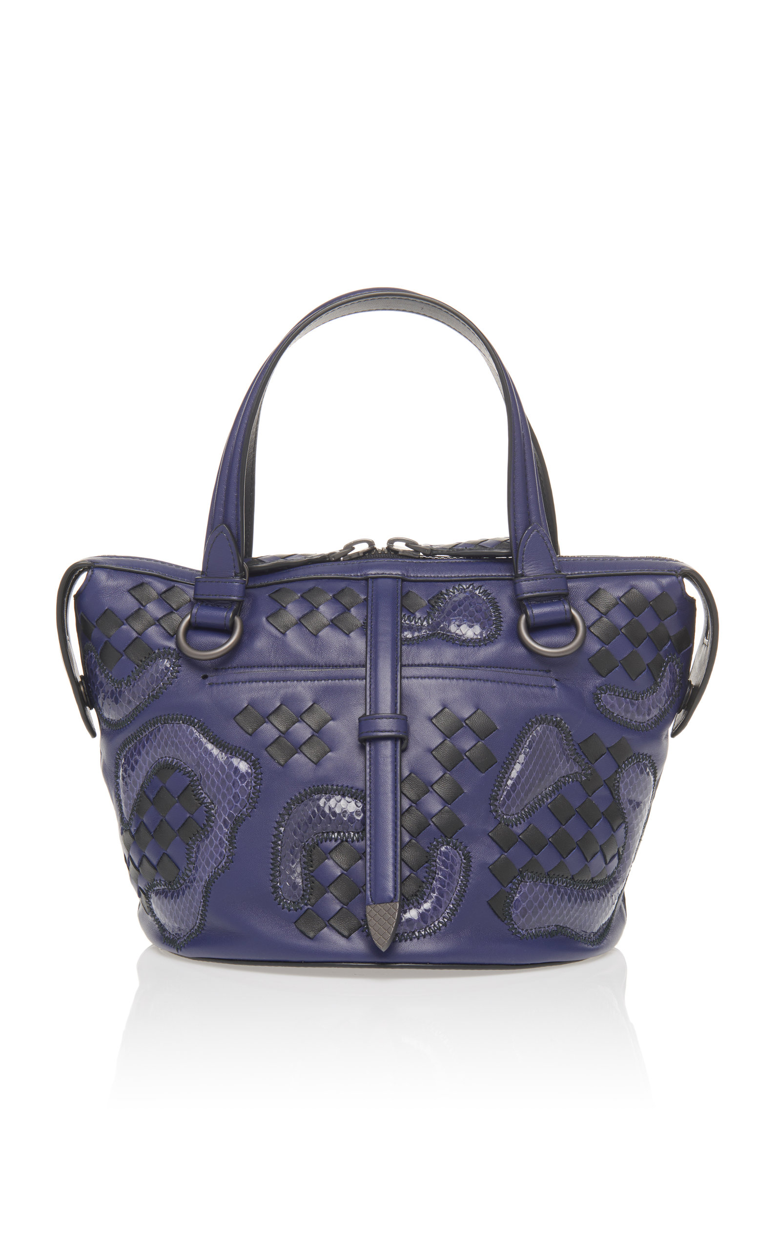Bottega Veneta Small Tambura Top Handle Bag F1k74C