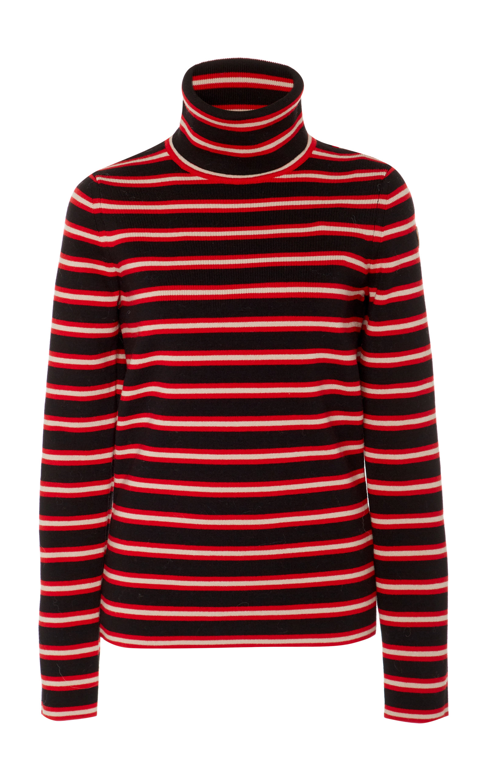 Moncler GeniusStriped Stretch-Wool Turtleneck Sweater. CLOSE. Loading
