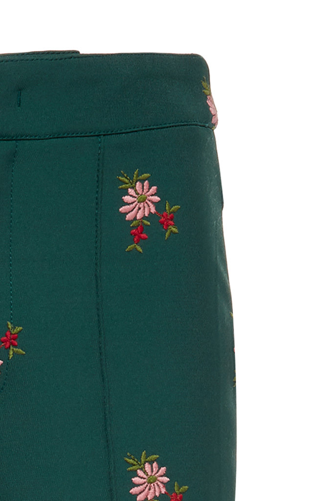 63691ded0f Moncler GeniusFloral-Embroidered Stretch-Twill Stirrup Ski Pants. CLOSE.  Loading. Loading. Loading
