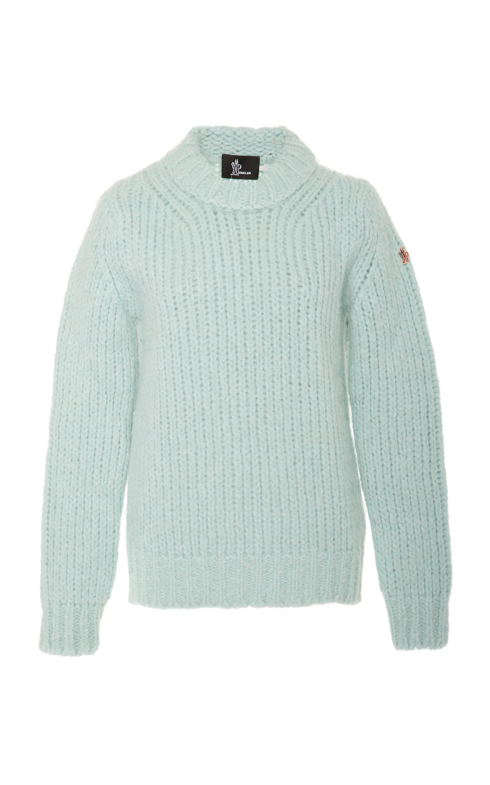 dcd6af017 Cable-Knit Alpaca-Blend Sweater by Moncler Genius