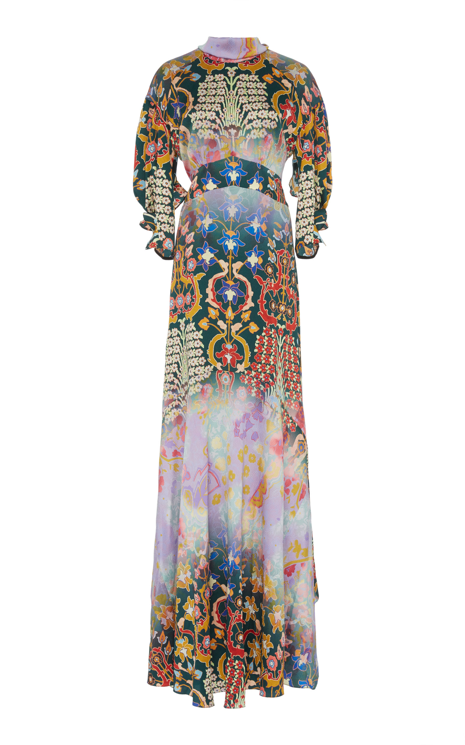 69db397a211ce Silk High Neck Gown by Peter Pilotto