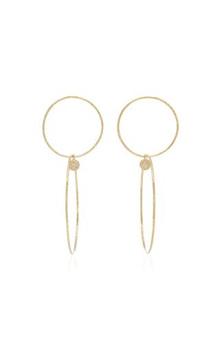 4d377521e OCTAVIA ELIZABETH | Octavia Elizabeth 18K Gold Diamond Hoop Earrings | Goxip