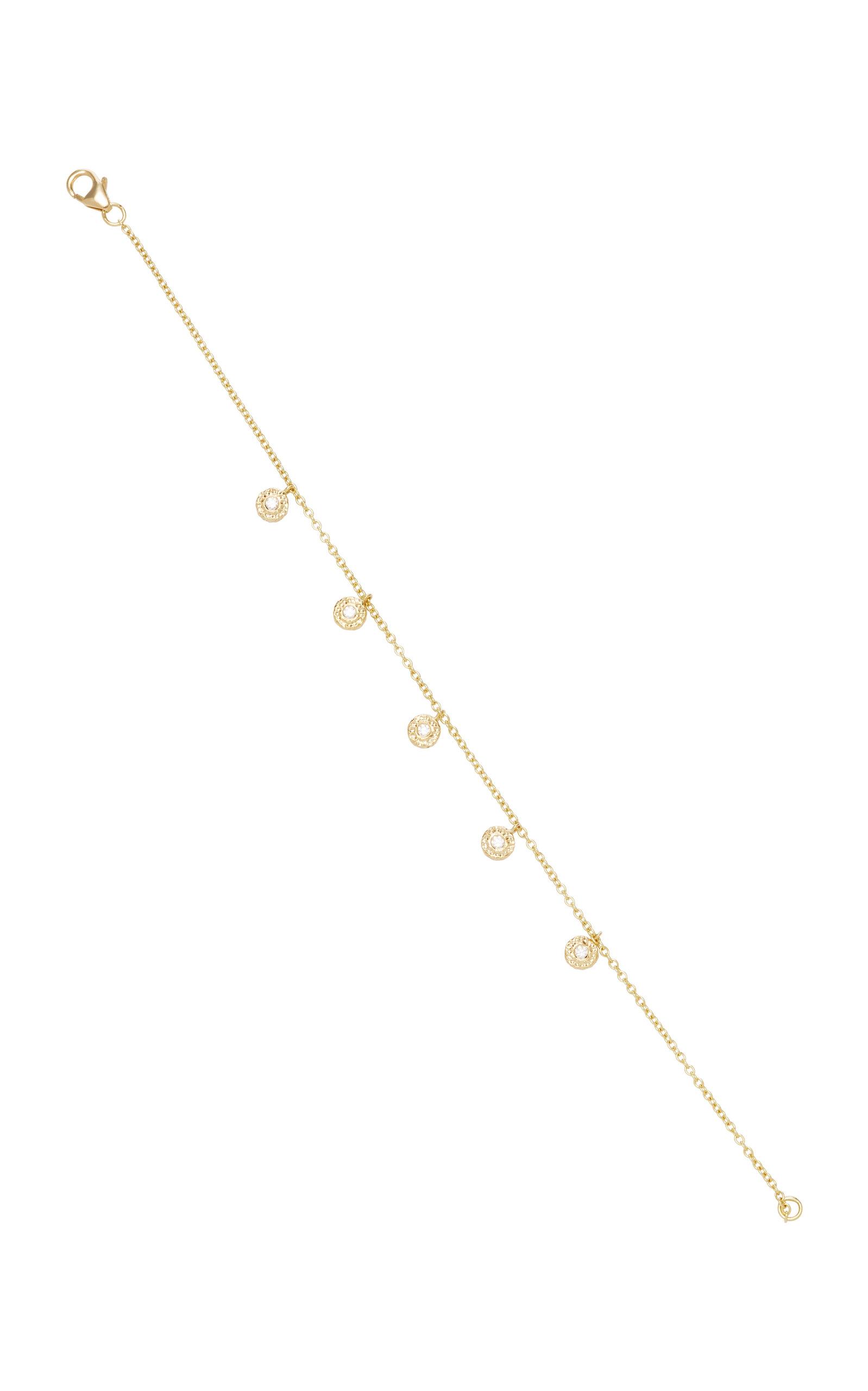 OCTAVIA ELIZABETH 18K Gold Diamond Bracelet