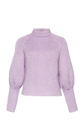 ELEANOR BALFOUR | Eleanor Balfour Exclusive Alma Balloon Sleeve Mohair-Blend Sweater | Goxip