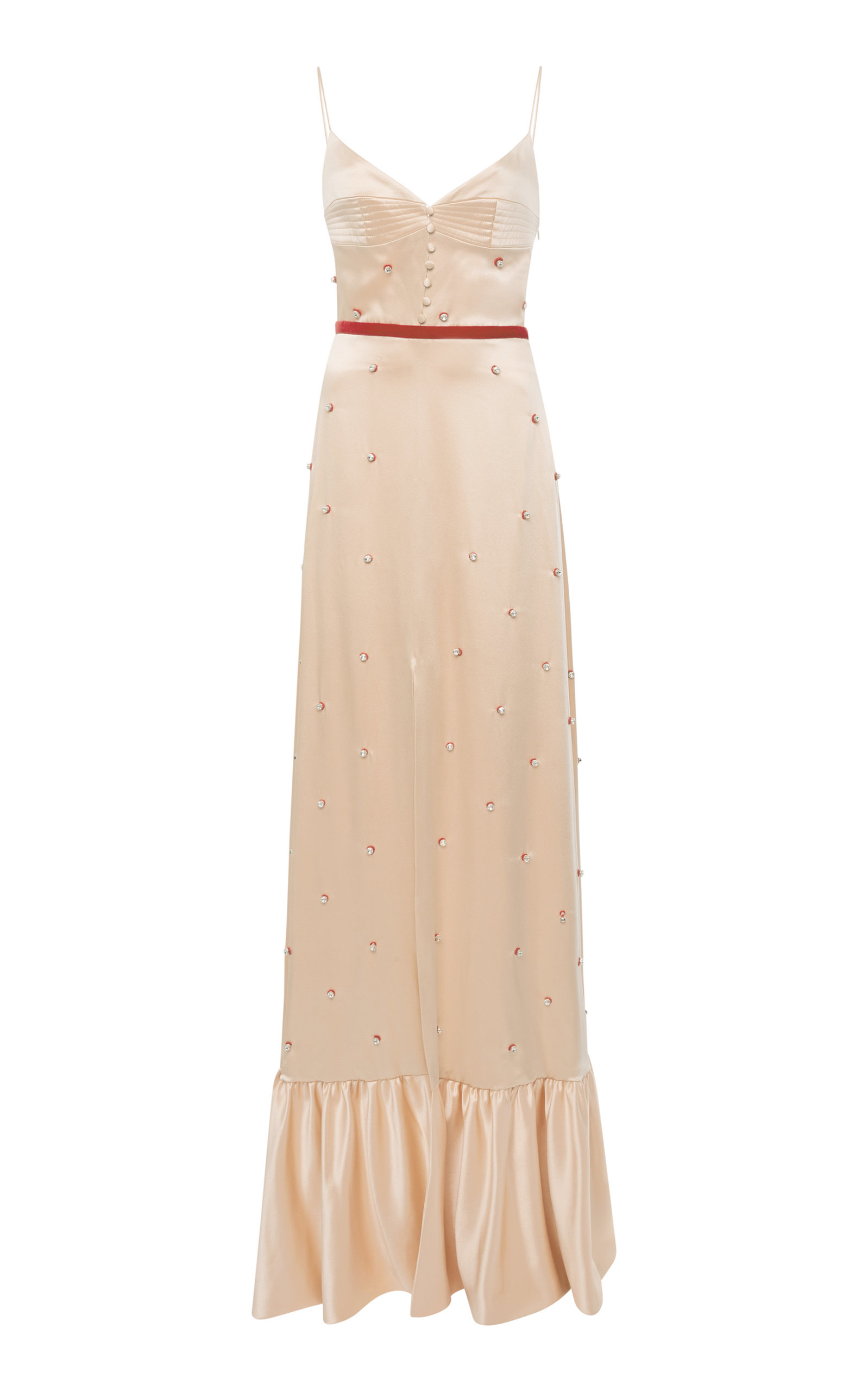 MARKARIAN ARABIAN SONG BEADED SILK GOWN
