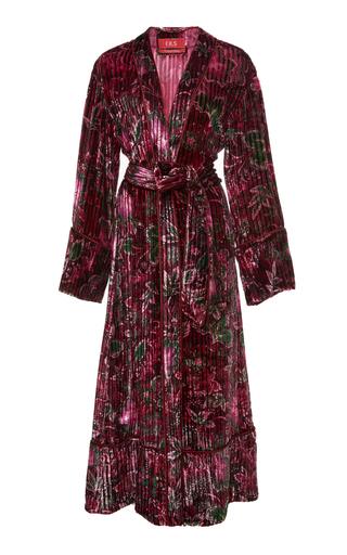 FOR RESTLESS SLEEPERS | For Restless Sleepers Nomos Floral Velvet Robe | Goxip