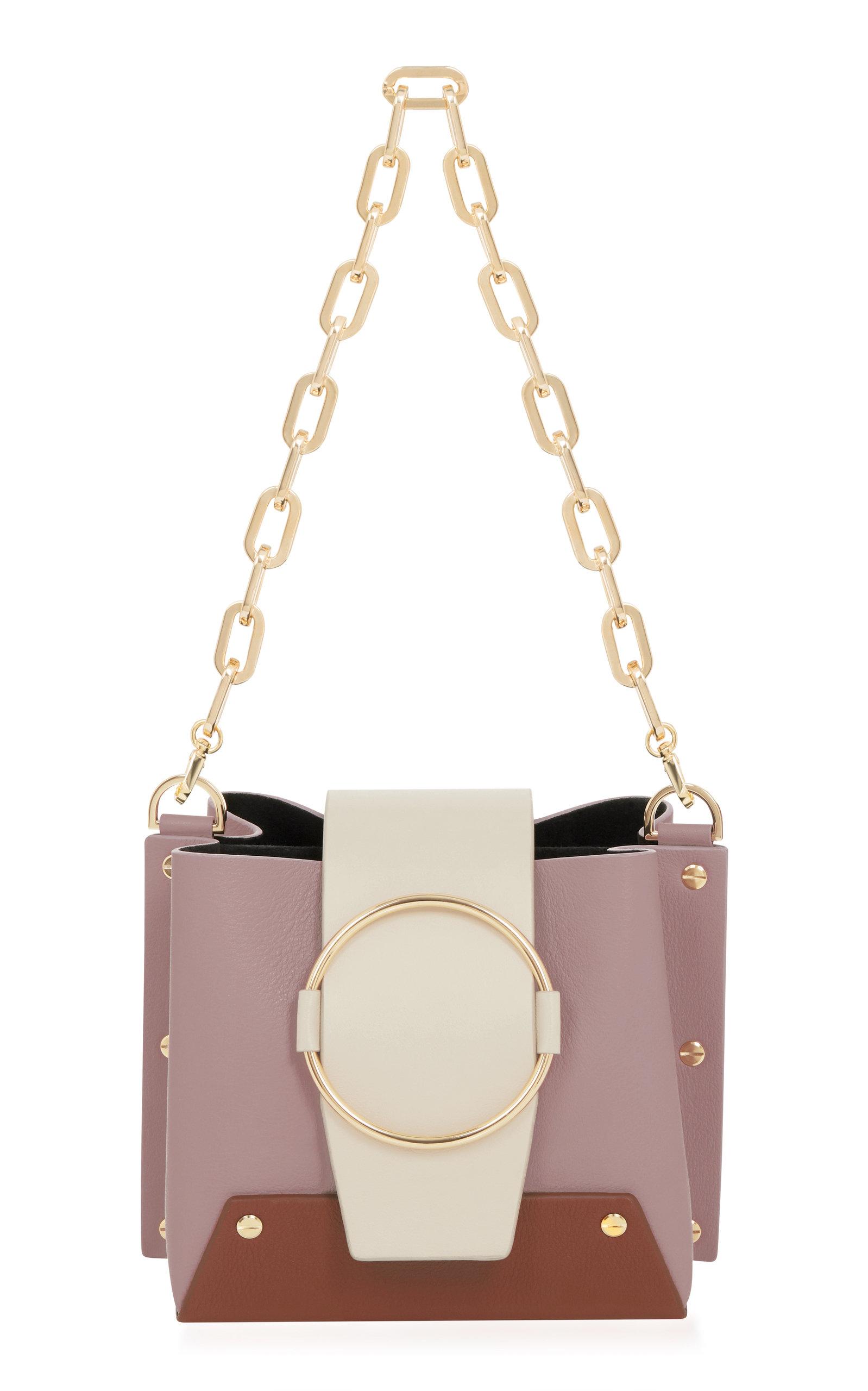 Yuzefi Mini Delila Bucket Bag In Purple Modesens