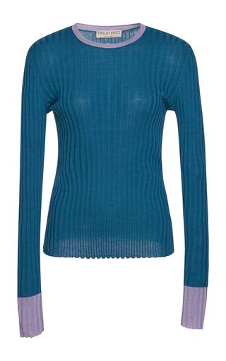 7f129b5a81f7 Emilio Pucci Rib Knit Pullover