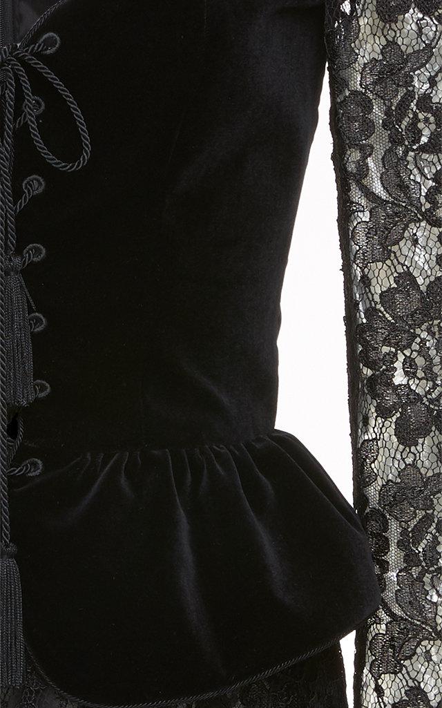fc5c2a0e7e21 DundasBustier Velvet Mini Dress. CLOSE. Loading. Loading. Loading
