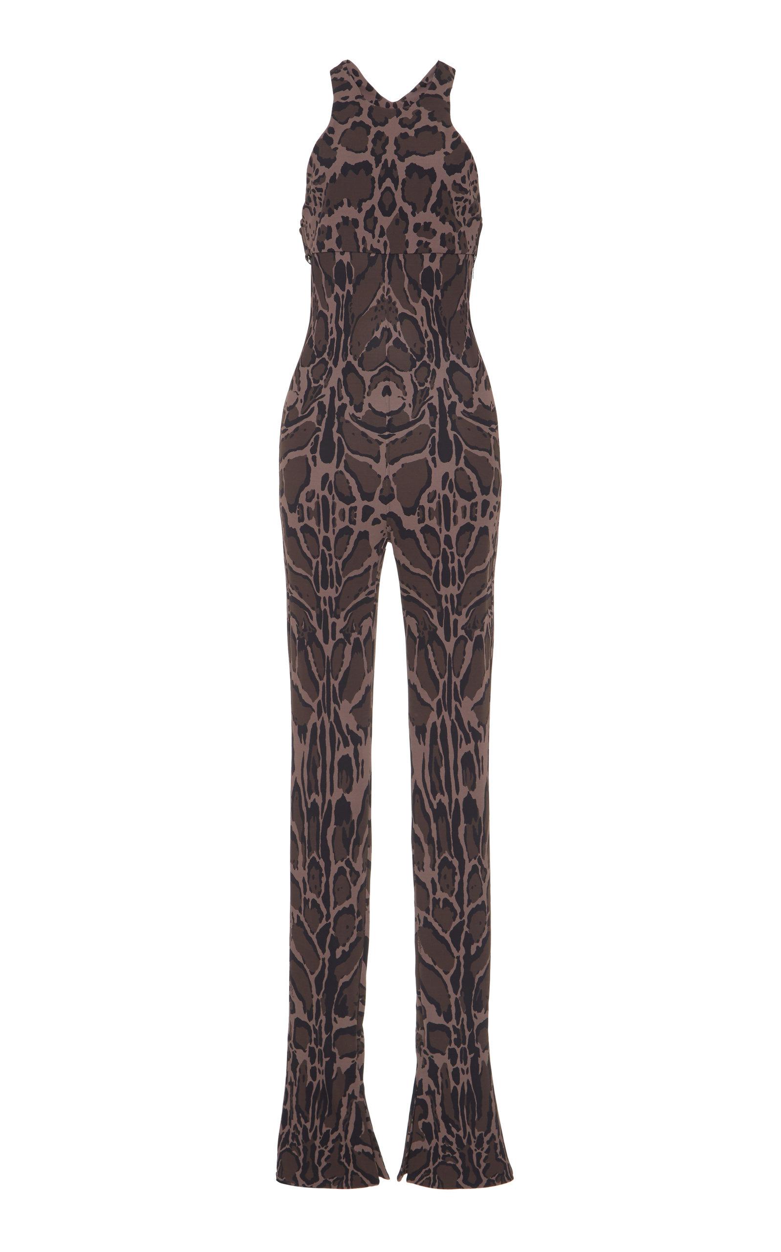 b752b07ad9f Roberto CavalliAnimal Print Jumpsuit. CLOSE. Loading