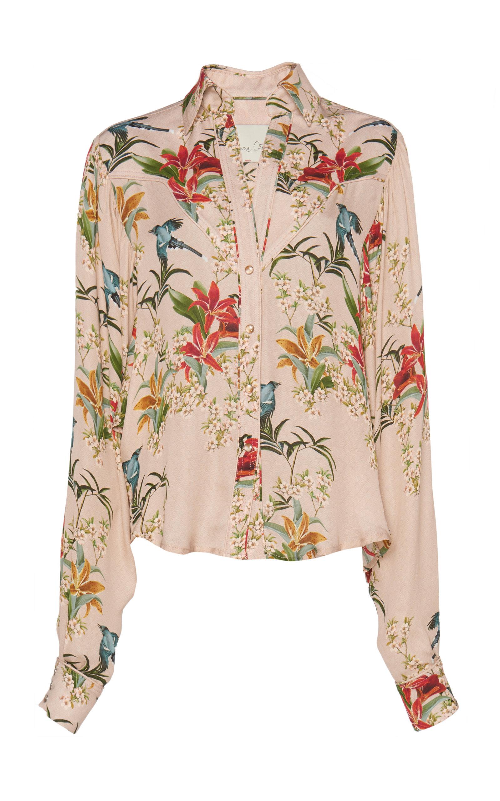 Low Shipping Sale Online Azalea Printed Silk-Georgette Blouse Johanna Ortiz Cheap Browse Original Cheap Online 09u62Jn