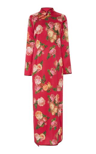 FOR RESTLESS SLEEPERS | For Restless Sleepers Teseo Satin Dress | Goxip
