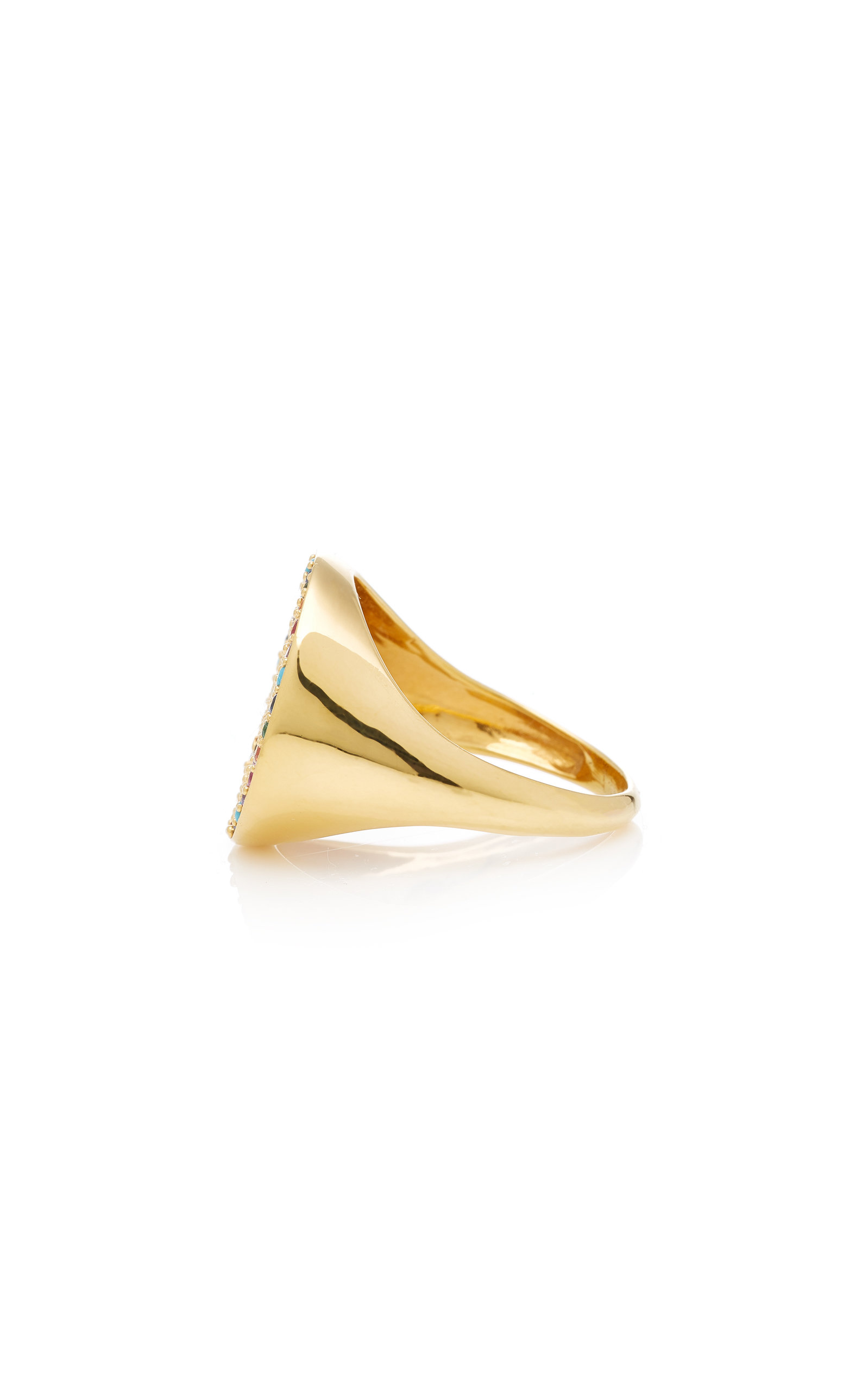 Cheap Buy Tribal Gold Plated-Brass and Cubic Zirconia Ring Joanna Laura Constantine Fashionable Online Outlet Explore Clearance 2018 Deals Cheap Online JDb3iRF