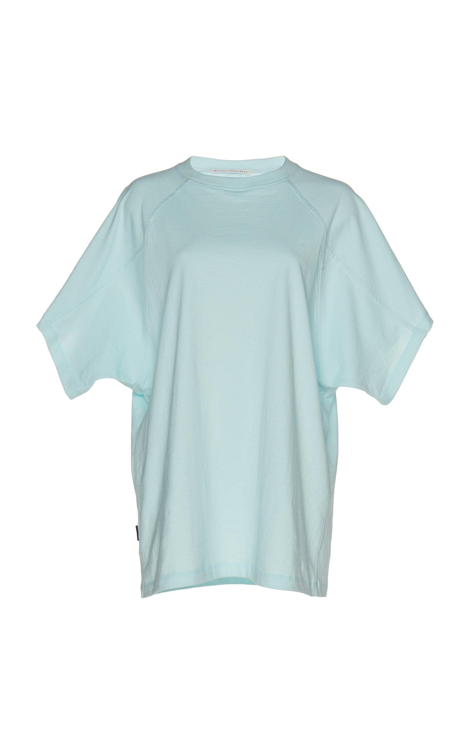 OLIVIER THEYSKENS Raglan T-Shirt in Blue