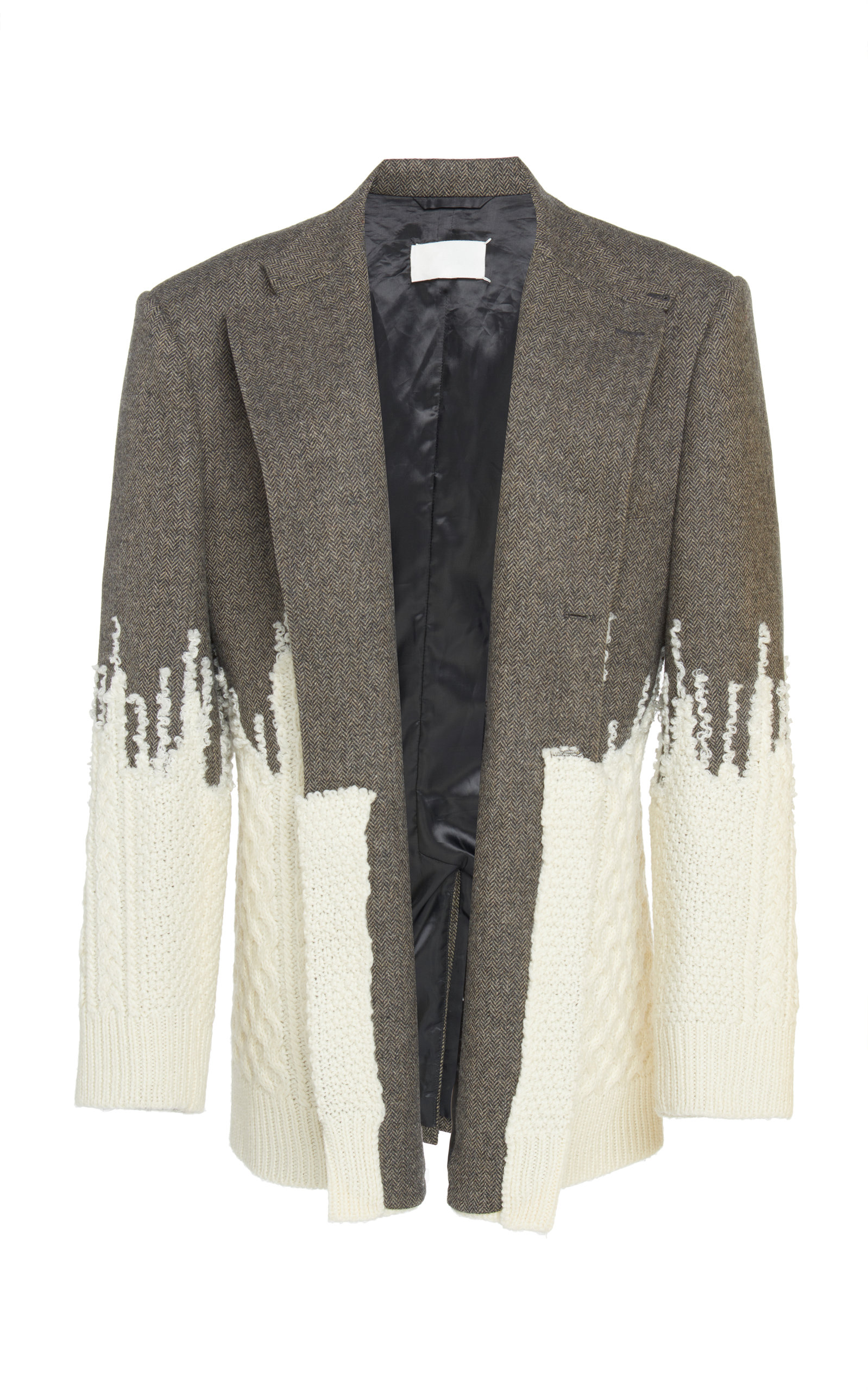 aaaff4d6d2b Maison MargielaHerringbone Degrade Knit Jacket. CLOSE. Loading