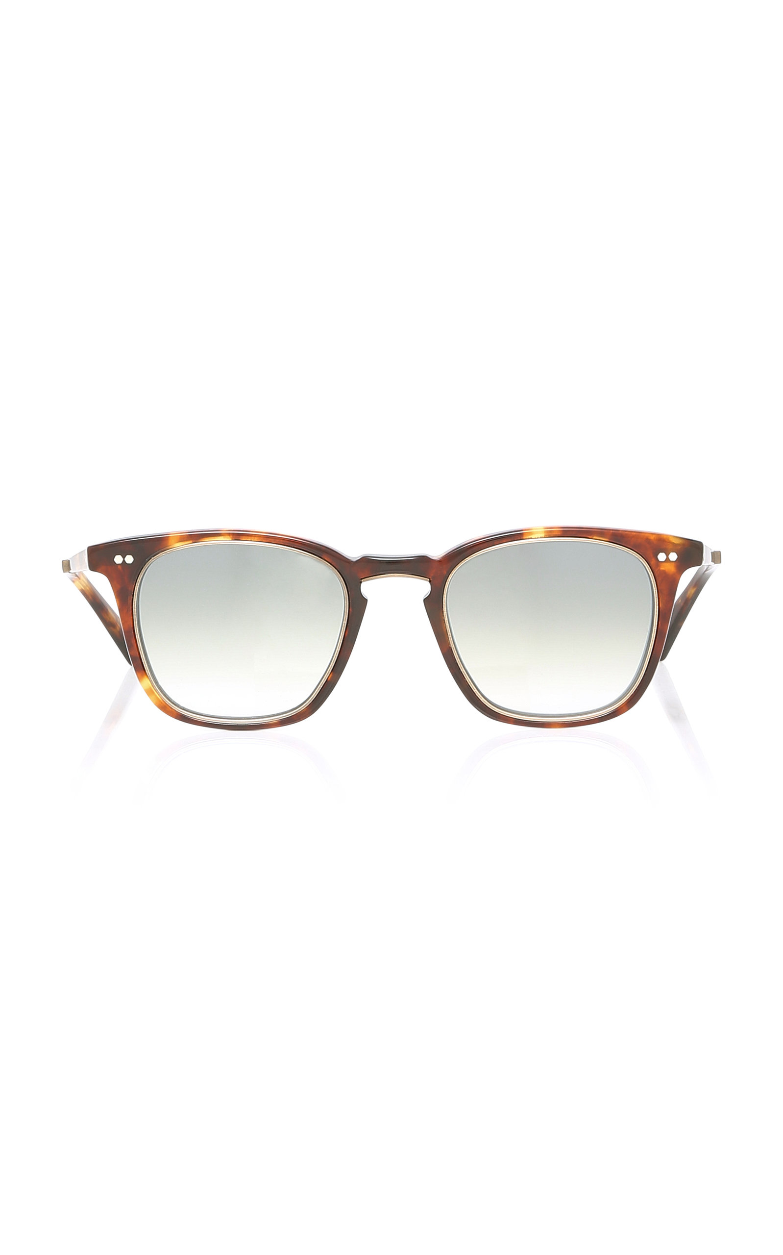 MR. LEIGHT Getty S Square-Frame Sunglasses in Brown