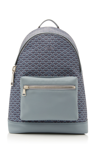 PINEL & PINEL | Pinel et Pinel Leather And Coated-Canvas Backpack | Goxip