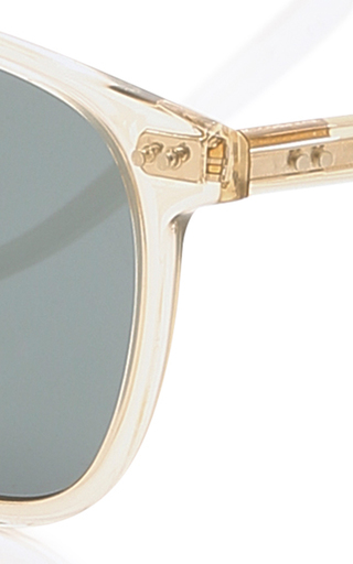 e7b3042c2f6 Garrett LeightBrooks 47 Square Frame Acetate Sunglasses