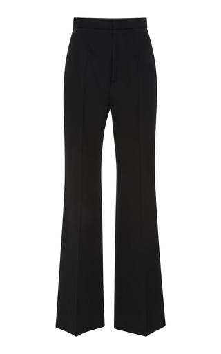 GIVENCHY | Givenchy Straight Leg Wool-Crepe Flared Pants | Goxip