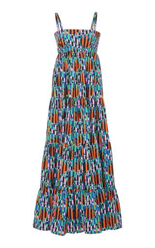 Tiered Printed Voile Maxi Dress La DoubleJ bBSxJCR