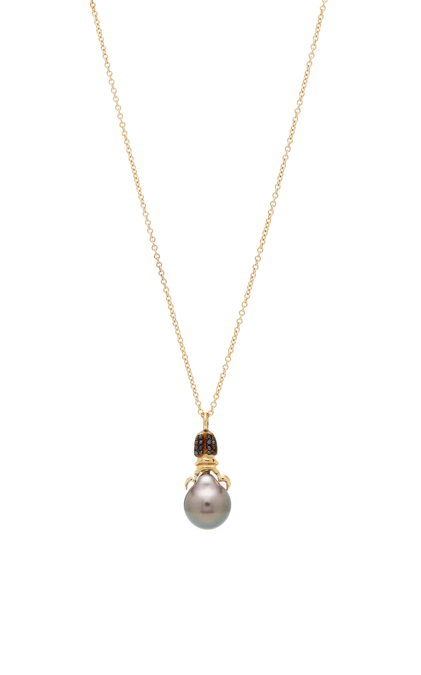 Khepri 18K Rose Gold Garnet And Pearl Necklace Daniela Villegas 95ywv