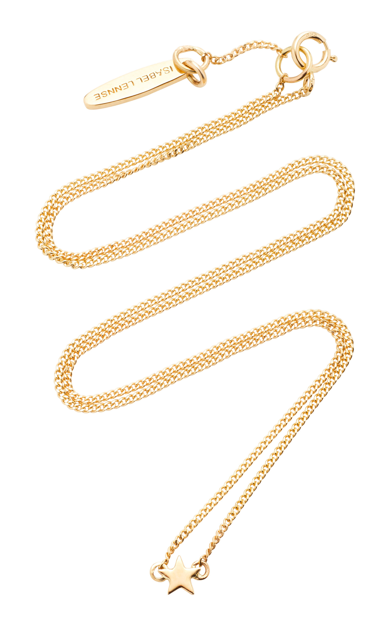 ISABEL LENNSE MINI STAR 14K GOLD NECKLACE