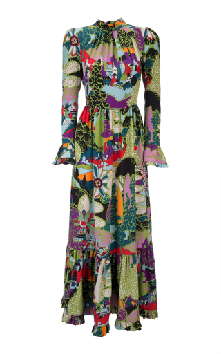 e56661b1 La DoubleJVisconti Silk Maxi Dress