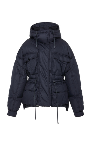 SPORTMAX | Sportmax Ottavia Quilted Shell Hooded Puffer Jacket | Goxip