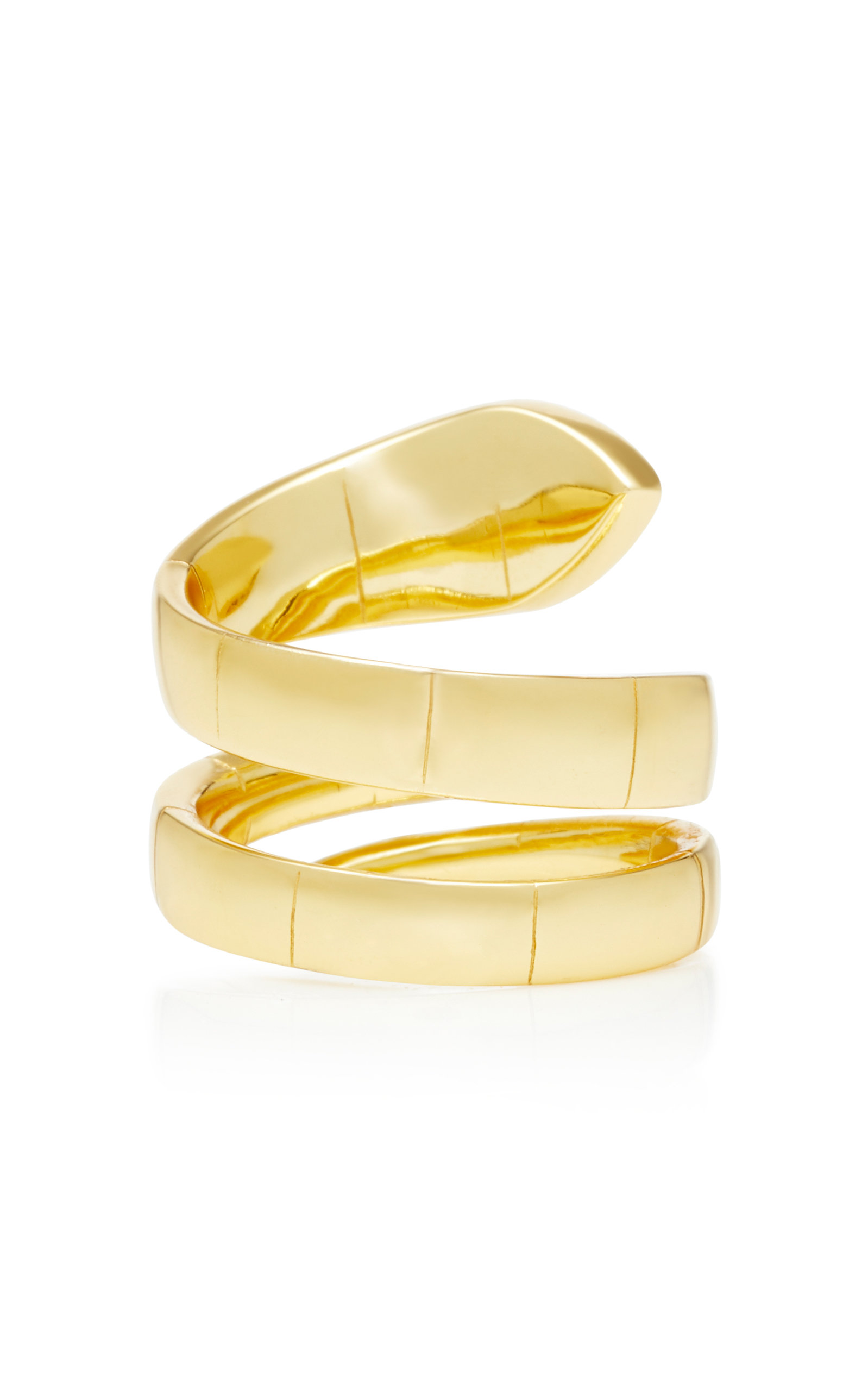 Wrap Gold-Plated Cubic Zirconia Ring Fallon Bj3iIsx1mC