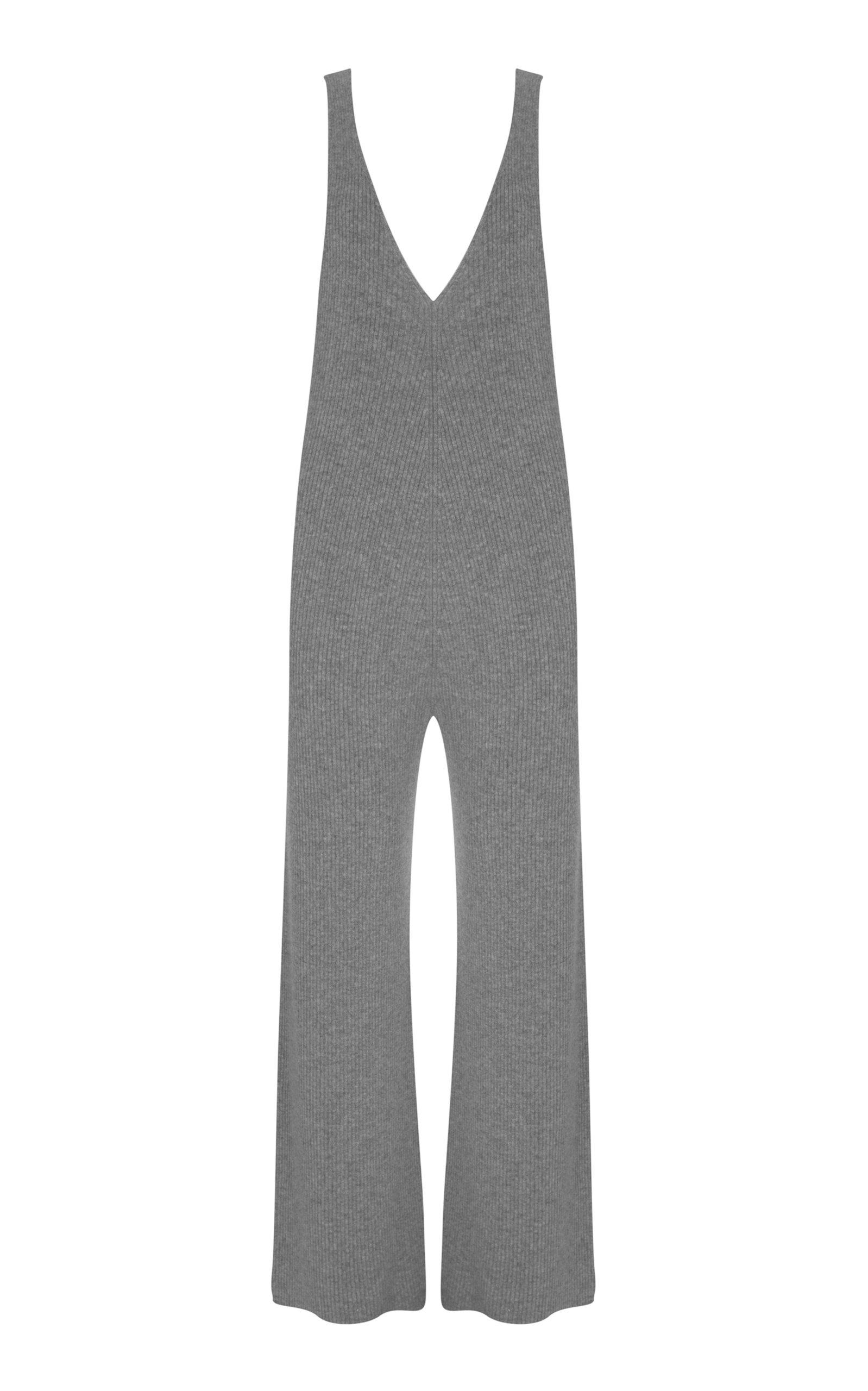 214fa5c056e Madeleine ThompsonProspero Cashmere V-Neck Jumpsuit. CLOSE. Loading