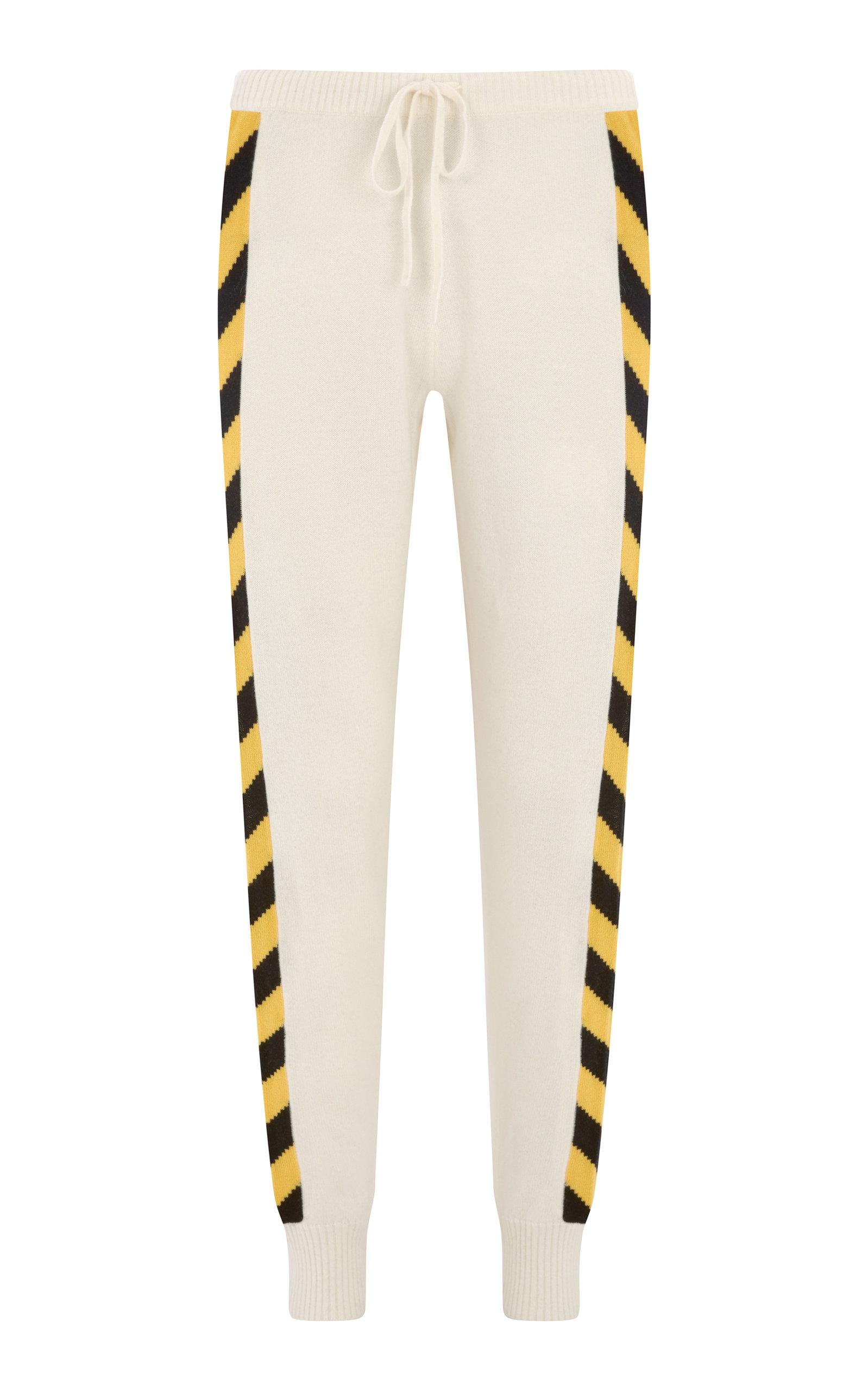 Nix Slim-Fit Cashmere Jogging Bottoms, White