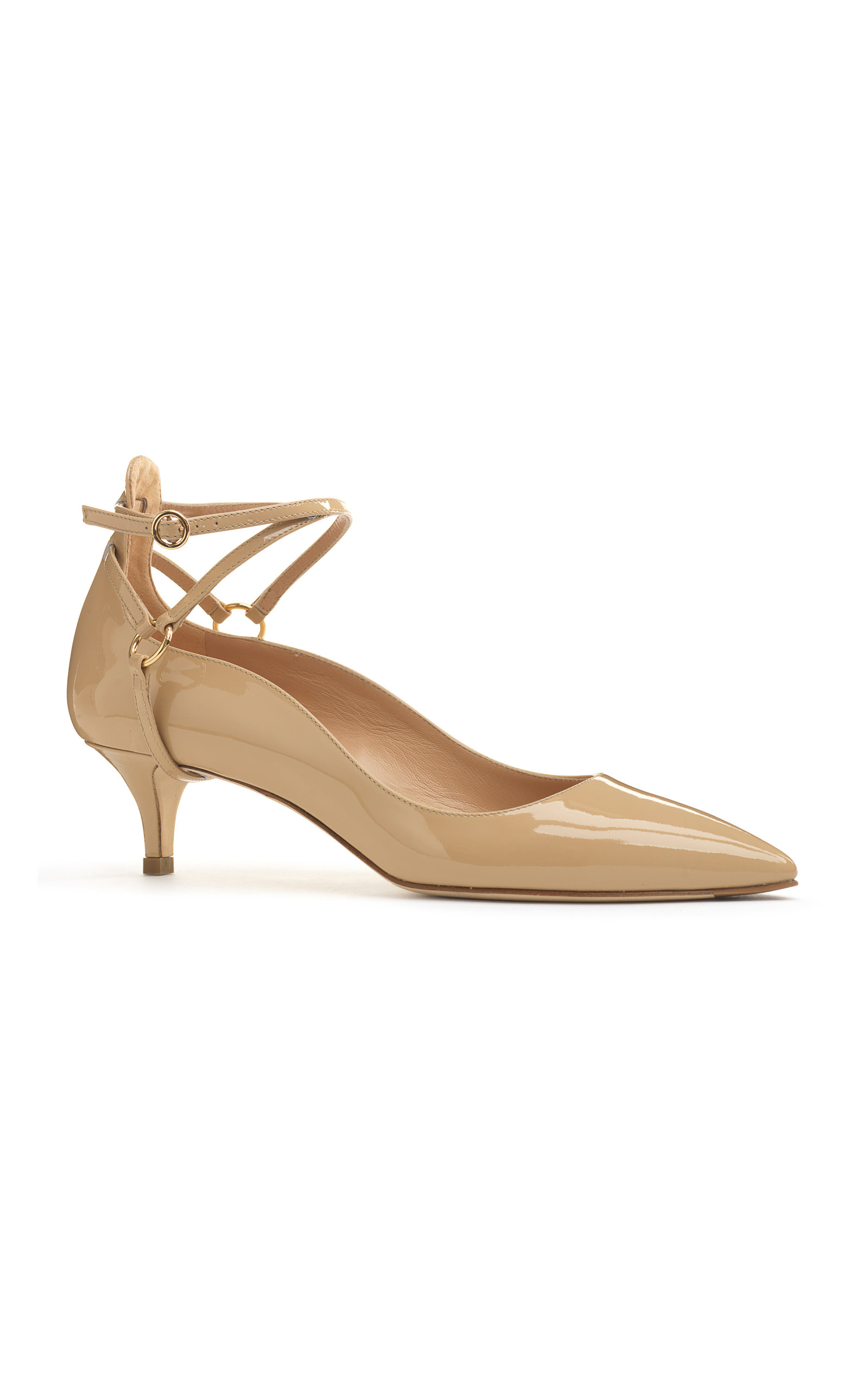 ALEXANDER WHITE Noemi Kitten Heel in Neutral