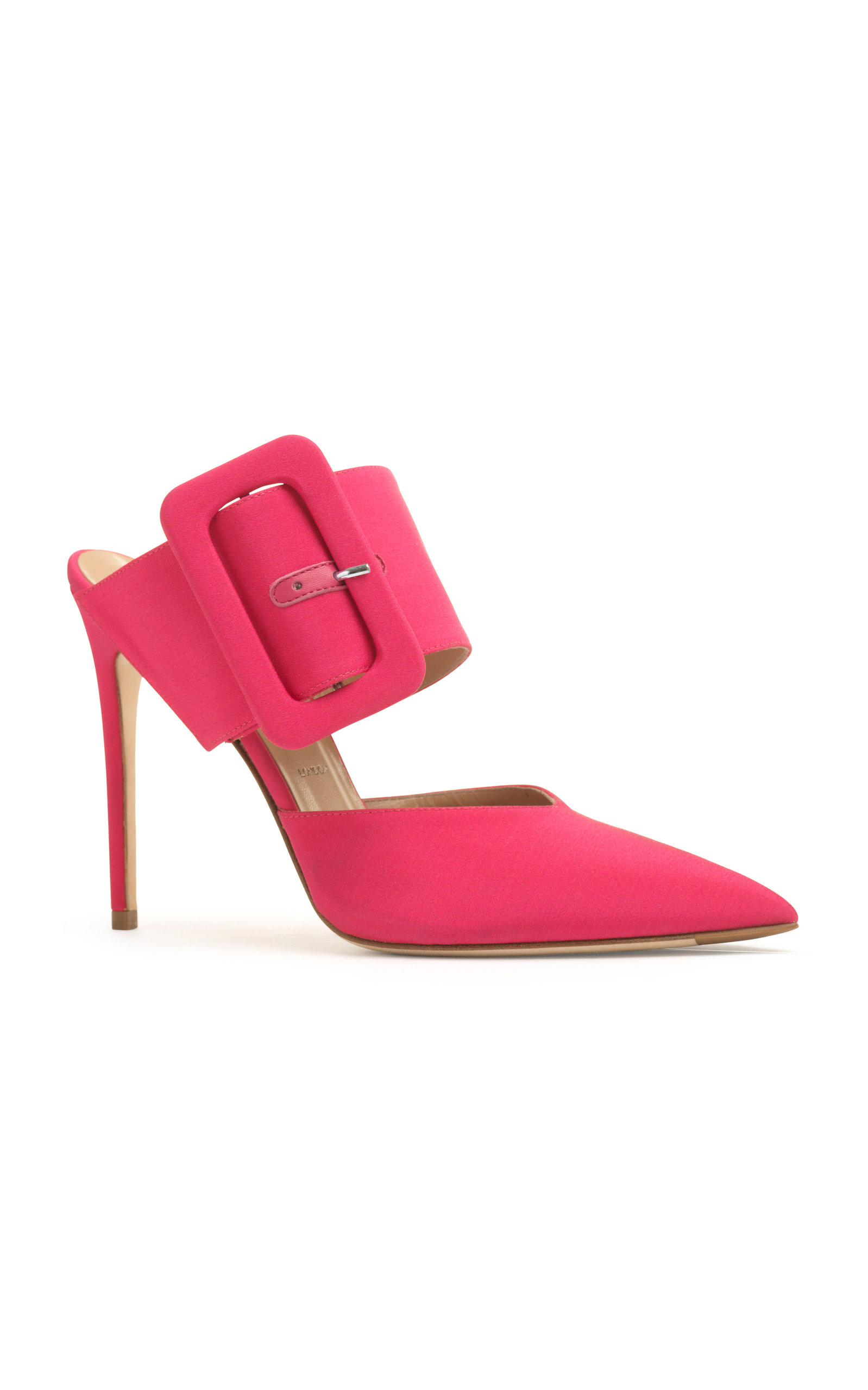 ALEXANDER WHITE Nadya Belt Mule in Pink