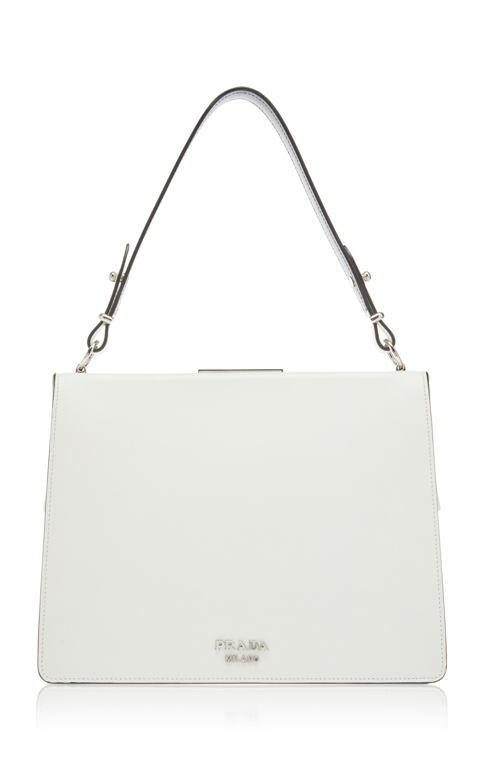1bf5ea8610cf best price prada white tote bag neiman marcus 08b17 a1642; switzerland city  calf top handle with monkey by prada moda operandi 217e2 ddeaa