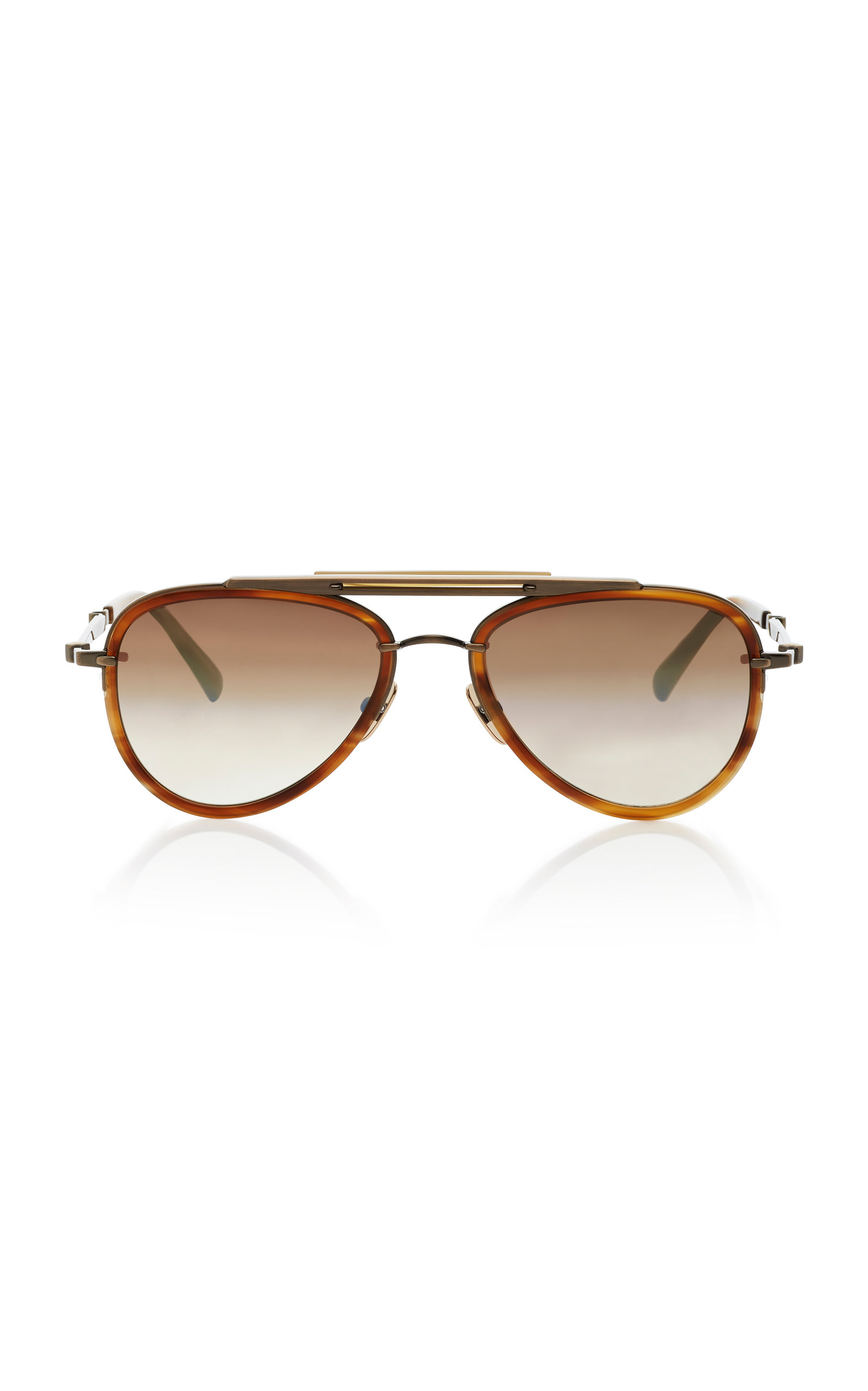 6bd5e93ca Doheny SL54 Aviator-Style Acetate And Metal Sunglasses by Mr. Leight ...