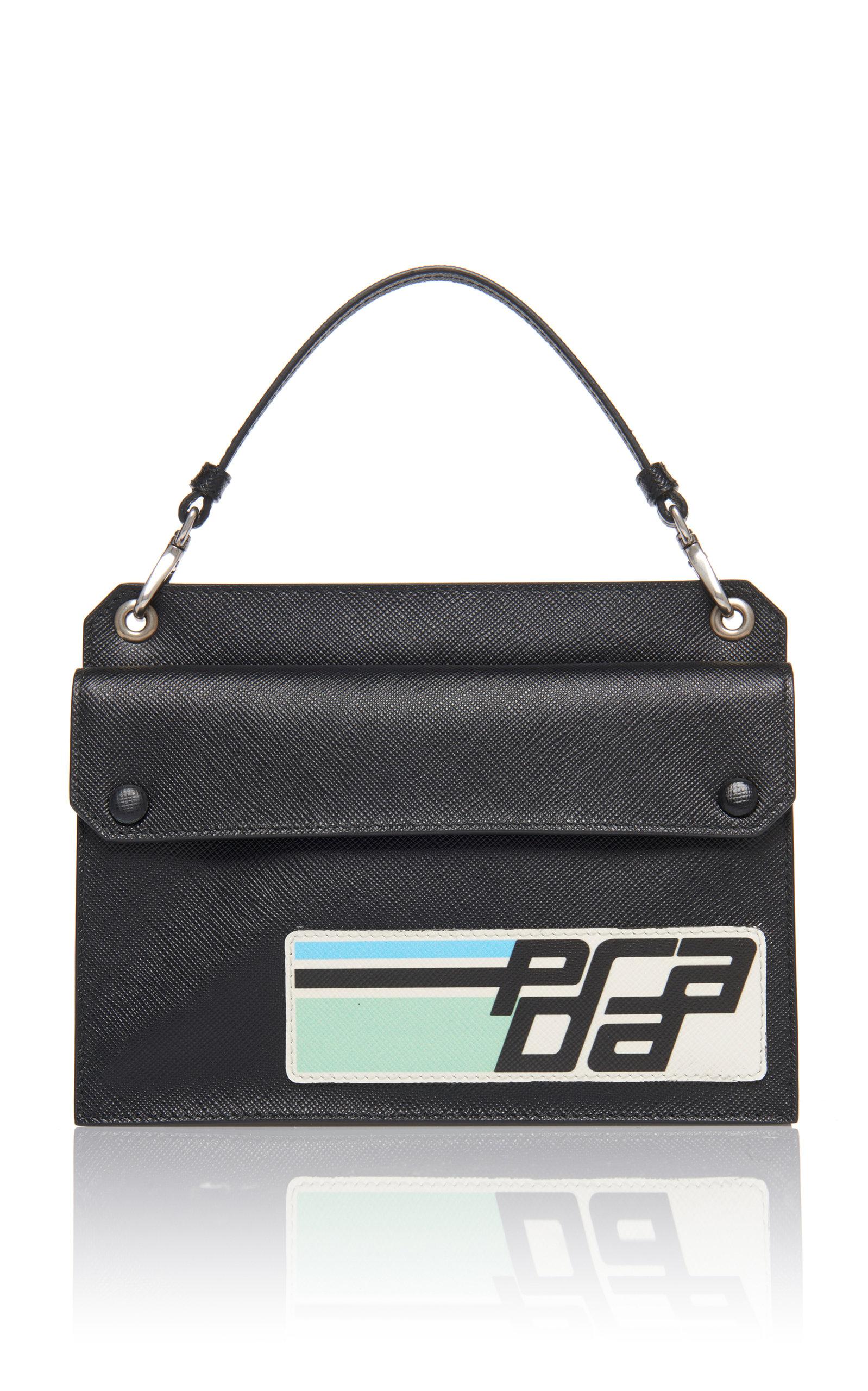 de1c872c7367 Leather Logo Mini Bag by Prada | Moda Operandi