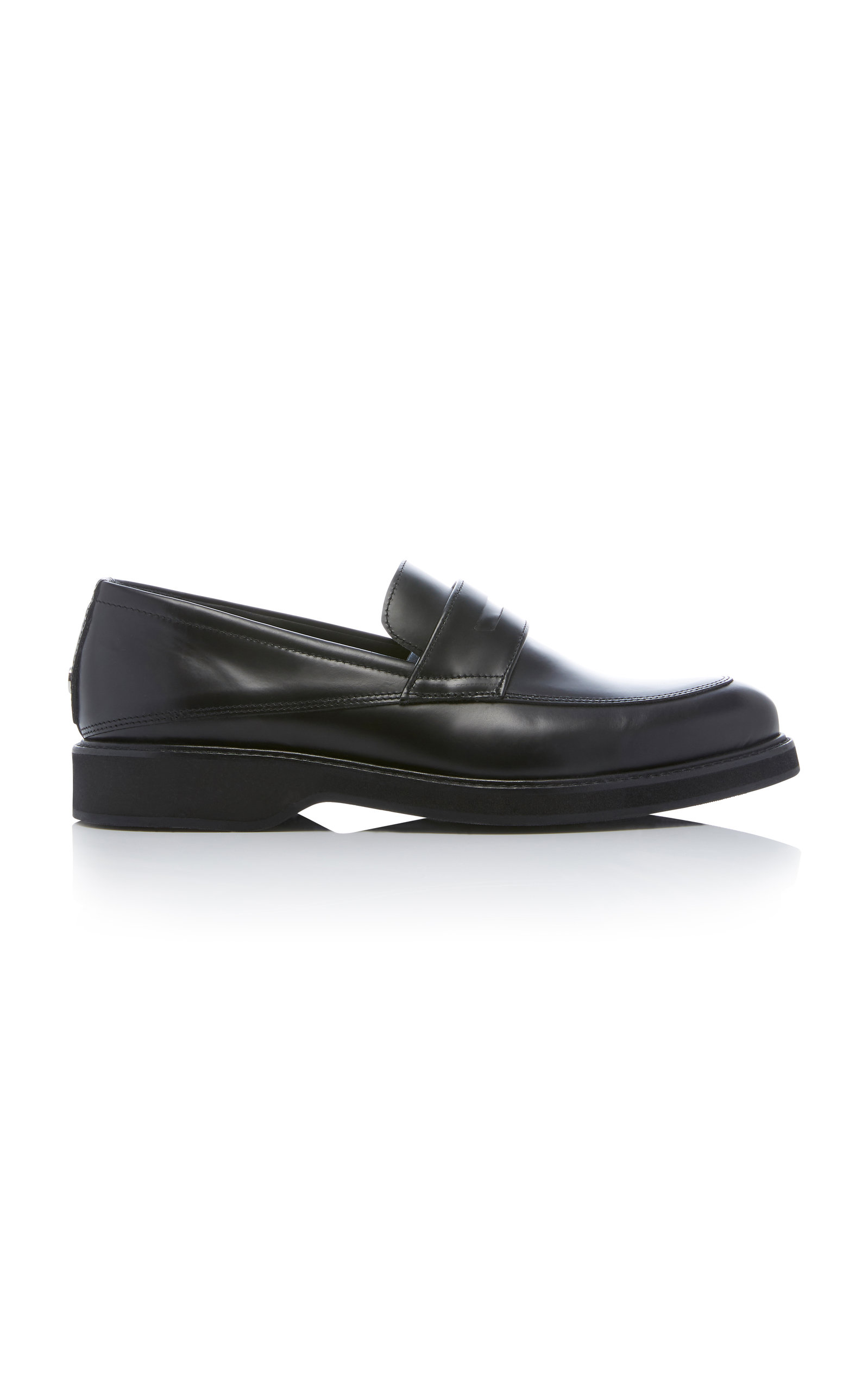 MARCOS LEATHER PENNY LOAFERS