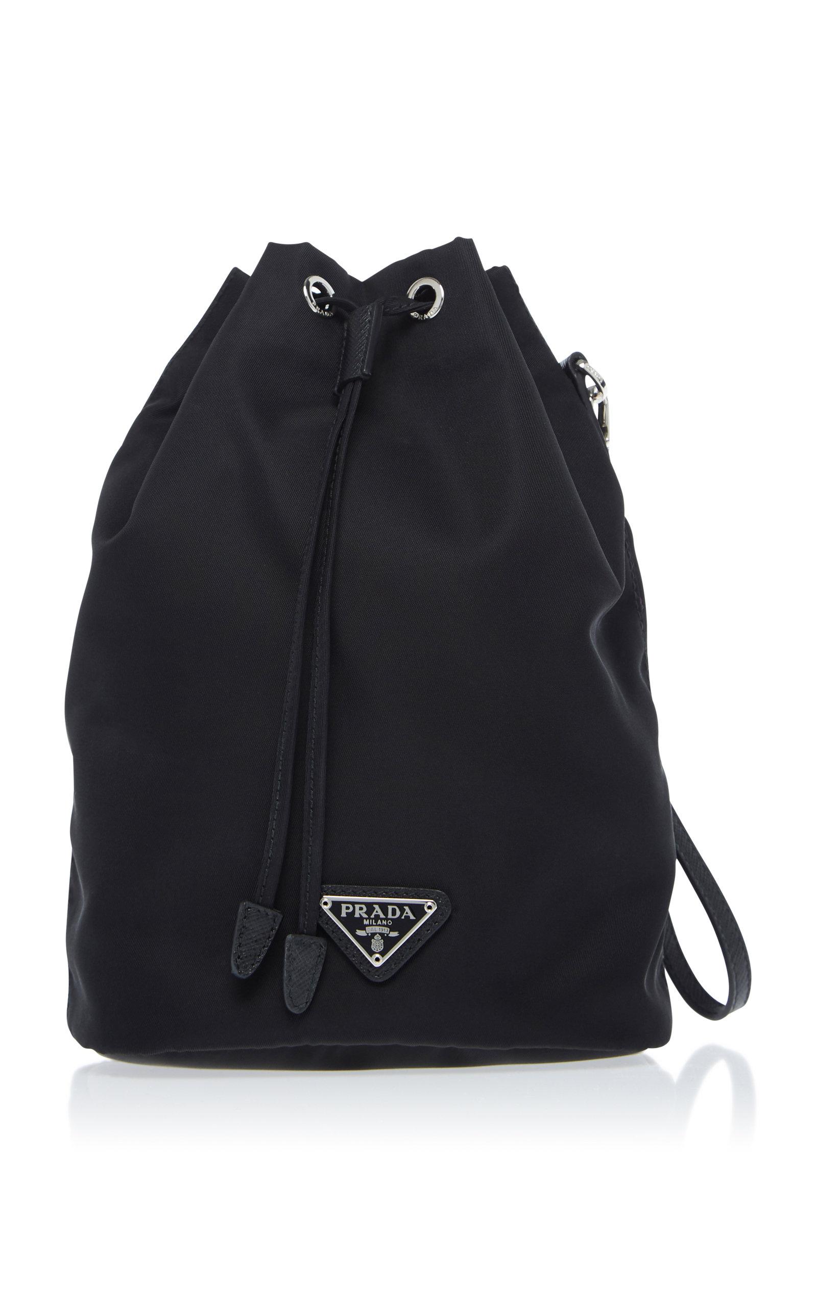 55a56670eb76 italy prada women backpacks vestiaire collective 36de7 21f52; official prada  nylon drawstring backpack 116bd 2d523