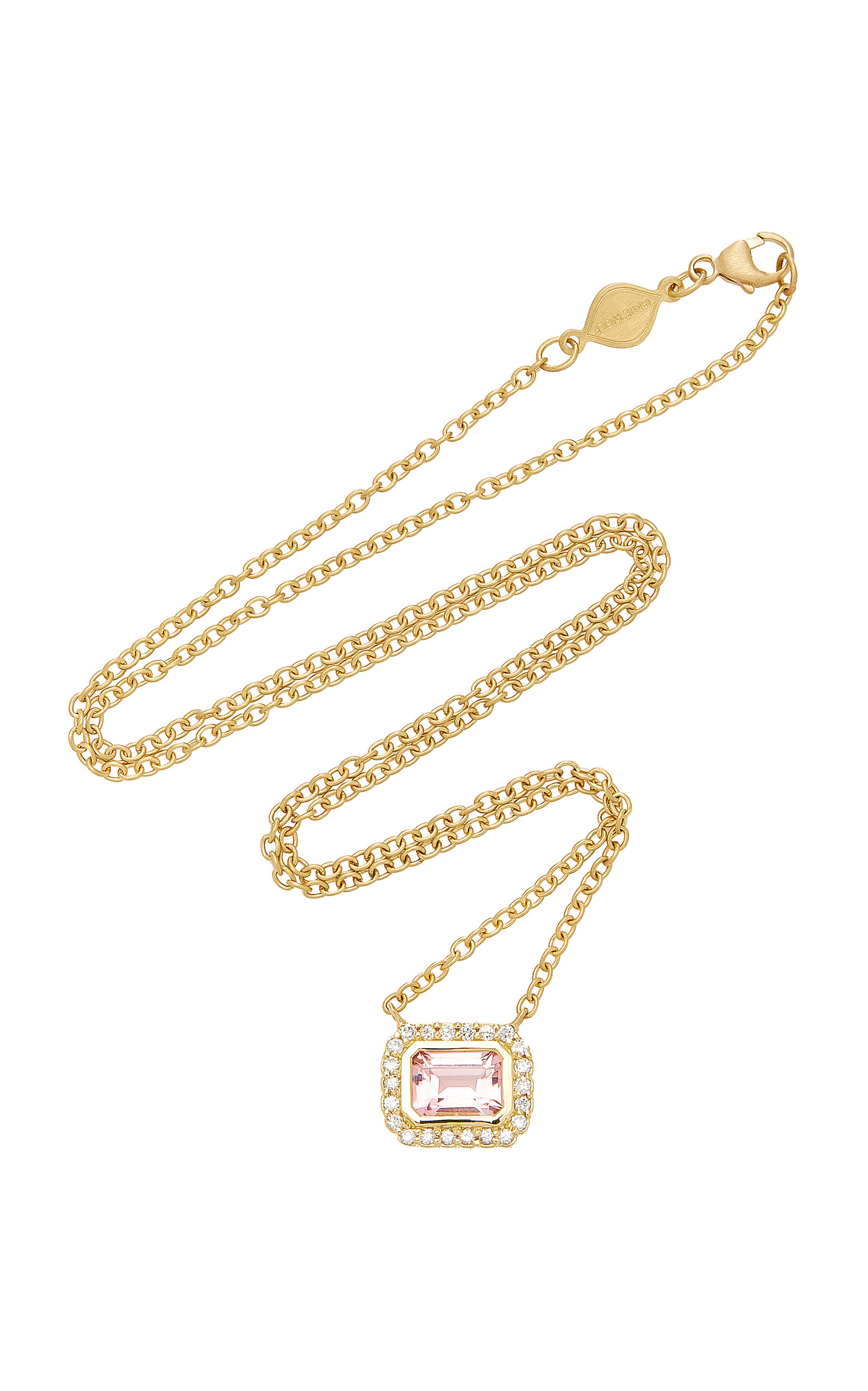 pink tourmaline shop betteridge angela jewellery pendant