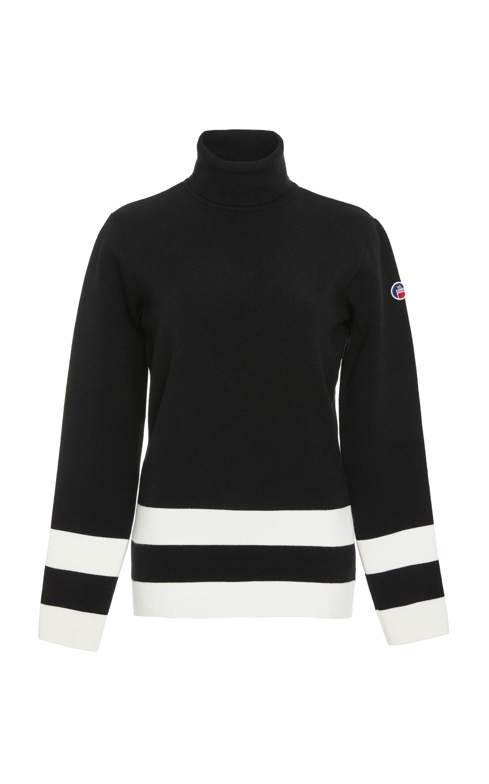 FUSALP   Fusalp Ubac Striped Turtleneck Sweater   Goxip