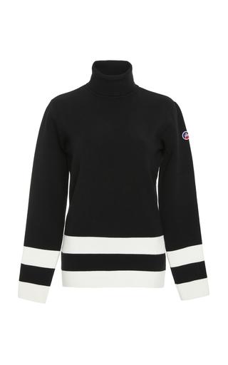 FUSALP | Fusalp Ubac Striped Turtleneck Sweater | Goxip