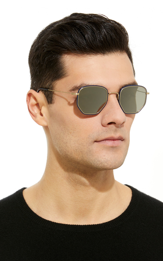 04210dc2bd Daddy B. Square Sunglasses by Oliver Peoples